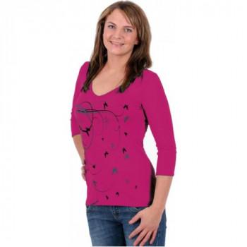 Термофутболка женская Lasting Erika 4545 Pink XS