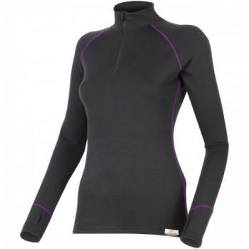 Термофутболка женская Lasting Laura 9049 Black-Purple XL