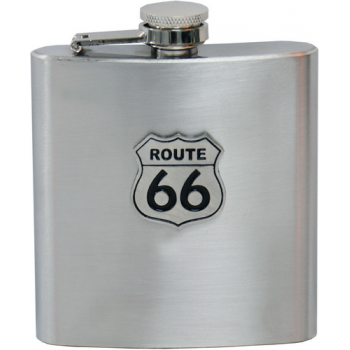 Фляга Hot Leathers Route 66 150 ml