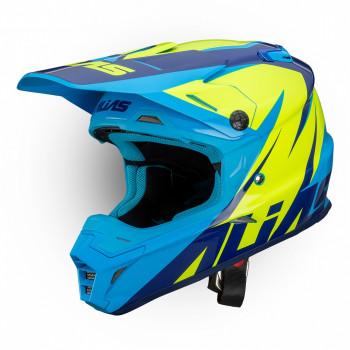 Мотошлем Alias UC1 Neon Yellow-Blue S