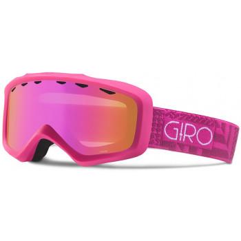фото 1 Горнолыжные и сноубордические маски Горнолыжная маска Giro Charm Flash Magenta-Berry Pocket Square/Amber Pink