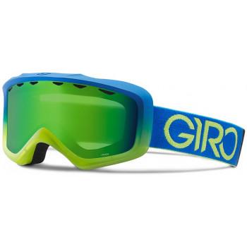 фото 1 Горнолыжные и сноубордические маски Горнолыжная маска Giro Grade Flash Blue-Lime Dual/Loden Green