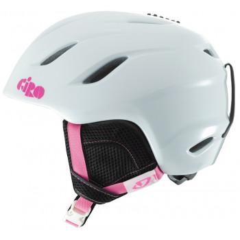фото 1 Горнолыжные и сноубордические шлемы Горнолыжный шлем детский Giro Nine Jr White Bunnies M (55.5-59см)