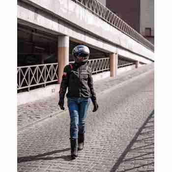 фото 4 Мотокуртки Мотокуртка женская Revit Tornado 2 Ladies Black 36