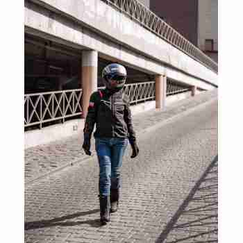 фото 5 Мотокуртки Мотокуртка женская Revit Tornado 2 Ladies Black 38