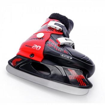 фото 6 Коньки Раздвижные коньки детские Tempish Fur Expanze Red-Black 29-32