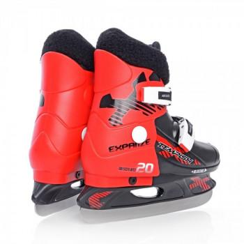 фото 2 Коньки Раздвижные коньки детские Tempish Fur Expanze Red-Black 33-36