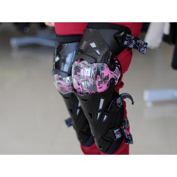 фото 5 Мотонаколенники Мотонаколенники Scoyco K12 Pink