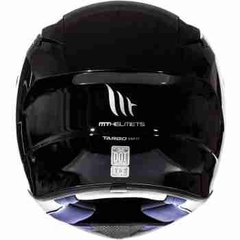 фото 3 Мотошлемы Мотошлем MT Targo Metal Black 2XL