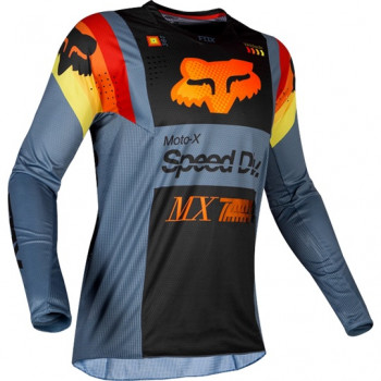 фото 2 Кроссовая одежда Мотоджерси Fox 360 Murc Jersey Blue Steel XL