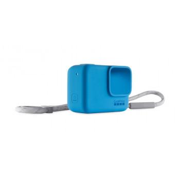фото 2 Аксессуары для экшн-камер Чехол для камеры GoPro Sleeve Plus Lanyard Blue