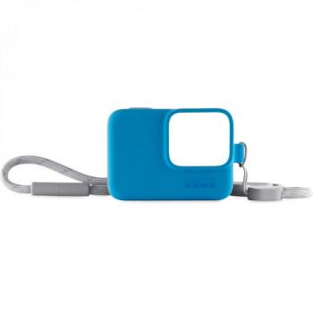 фото 1 Аксессуары для экшн-камер Чехол для камеры GoPro Sleeve Plus Lanyard Blue