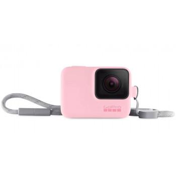 фото 1 Аксессуары для экшн-камер Чехол для камеры GoPro Sleeve Plus Lanyard Pink