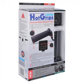 фото 1 Моторучки Мотогрипсы Oxford Hotgrips Premium Retro