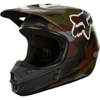 фото 1 Мотошлемы Мотошлем Fox V1 Camo Helmet Ece Camo ML