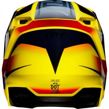 фото 4 Мотошлемы Мотошлем Fox V1 Motif Helmet Yellow XS