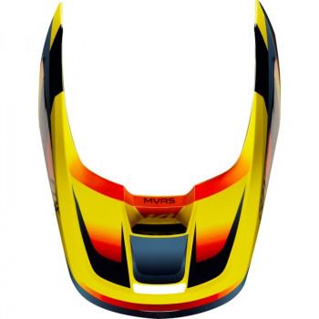 фото 6 Мотошлемы Мотошлем Fox V1 Motif Helmet Yellow XS