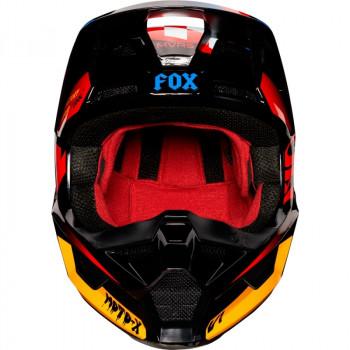 фото 2 Мотошлемы Мотошлем Fox V1 Czar Helmet Black-Yellow XS