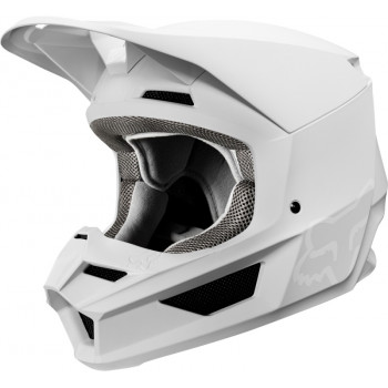 фото 1 Мотошлемы Мотошлем Fox V1 Matte Helmet White S