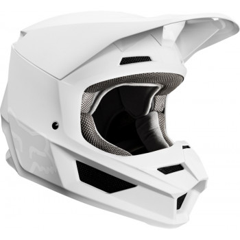 фото 3 Мотошлемы Мотошлем Fox V1 Matte Helmet White S