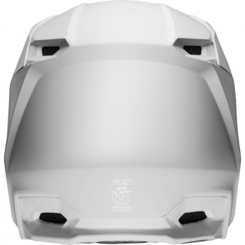 фото 4 Мотошлемы Мотошлем Fox V1 Matte Helmet White S