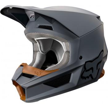 фото 1 Мотошлемы Мотошлем Fox V1 Matte Helmet Stone 2XL