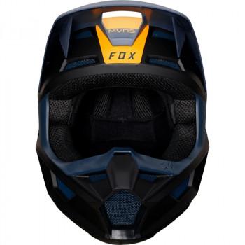 фото 2 Мотошлемы Мотошлем Fox V1 Mata Helmet Navy-Yellow 2XL