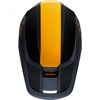 фото 5 Мотошлемы Мотошлем Fox V1 Mata Helmet Navy-Yellow 2XL