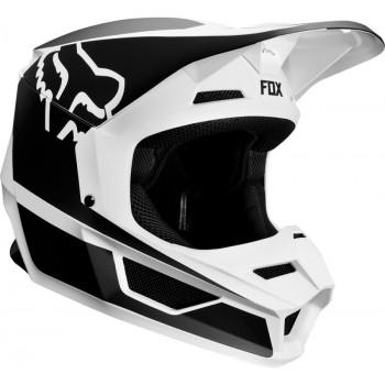фото 3 Мотошлемы Мотошлем Fox V1 Przm Helmet Black-White 2XL