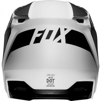 фото 4 Мотошлемы Мотошлем Fox V1 Przm Helmet Black-White 2XL