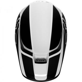 фото 5 Мотошлемы Мотошлем Fox V1 Przm Helmet Black-White 2XL