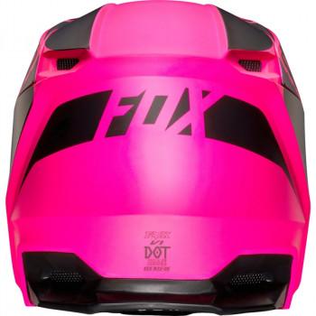 фото 4 Мотошлемы Мотошлем Fox V1 Przm Helmet Black-Pink S