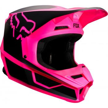 фото 3 Мотошлемы Мотошлем Fox V1 Przm Helmet Black-Pink XS