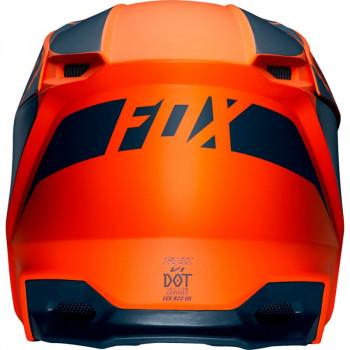 фото 4 Мотошлемы Мотошлем детский Fox Yth V1 Przm Orange YS