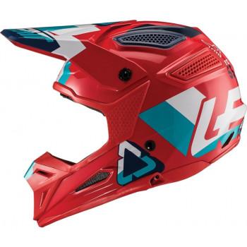 фото 3 Мотошлемы Мотошлем Leatt GPX 5.5 V19.2 Red-Teal M