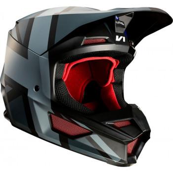 фото 1 Мотошлемы Мотошлем Fox V1 SE MXON Red-Black L