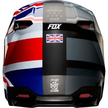 фото 4 Мотошлемы Мотошлем Fox V1 SE MXON Red-Black L