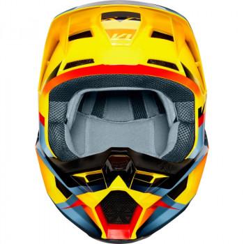 фото 2 Мотошлемы Мотошлем Fox V1 Motif Yellow M