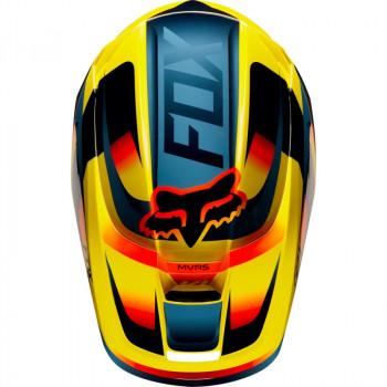 фото 5 Мотошлемы Мотошлем Fox V1 Motif Yellow 2XL