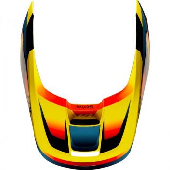 фото 6 Мотошлемы Мотошлем Fox V1 Motif Yellow 2XL