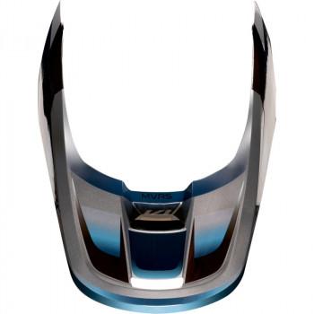 фото 6 Мотошлемы Мотошлем Fox V1 Motif Blue-Grey S