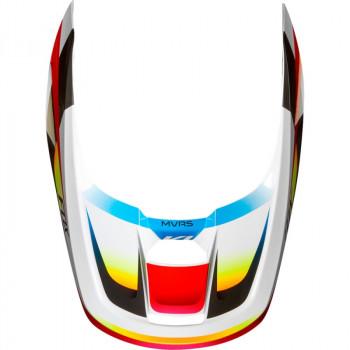фото 6 Мотошлемы Мотошлем Fox V1 Motif Red-White XS