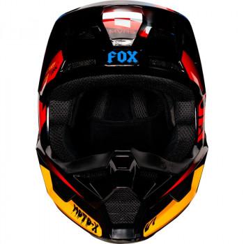 фото 2 Мотошлемы Мотошлем детский Fox V1 Czar  Black-Yellow YS