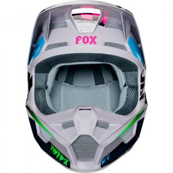 фото 2 Мотошлемы Мотошлем Fox V1 Czar Helmet Light Grey S