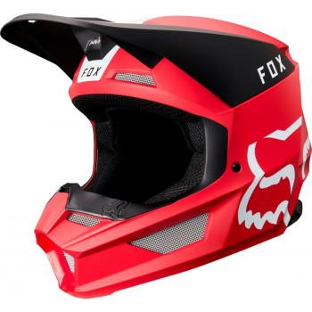 фото 1 Мотошлемы Мотошлем Fox V1 Mata Helmet Cardinal S