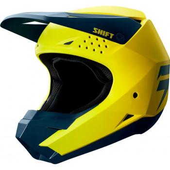 фото 1 Мотошлемы Мотошлем SHIFT Whit3 Helmet Yellow-Navy XS