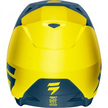 фото 4 Мотошлемы Мотошлем SHIFT Whit3 Helmet Yellow-Navy S