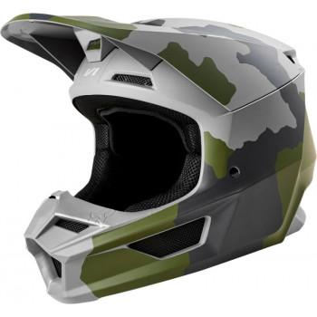 фото 1 Мотошлемы Мотошлем Fox V1 Przm Helmet Camo XS
