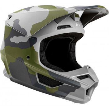 фото 3 Мотошлемы Мотошлем Fox V1 Przm Helmet Camo XL