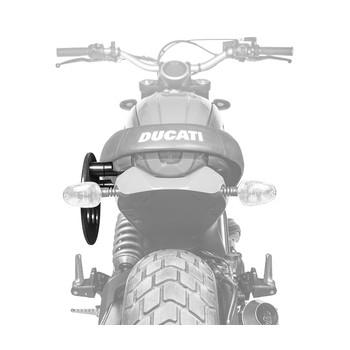 фото 3 Аксессуары для транспортировки Крепление для боковой сумки Kriega SB Platform - Ducati Scrambler - Solo